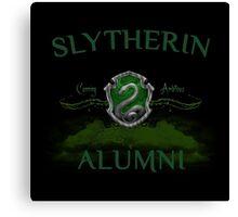 Slytherin Alumni Canvas Print