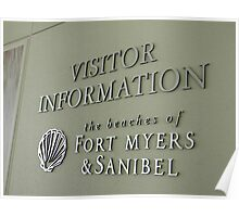 Welcome to Fort Myers Poster