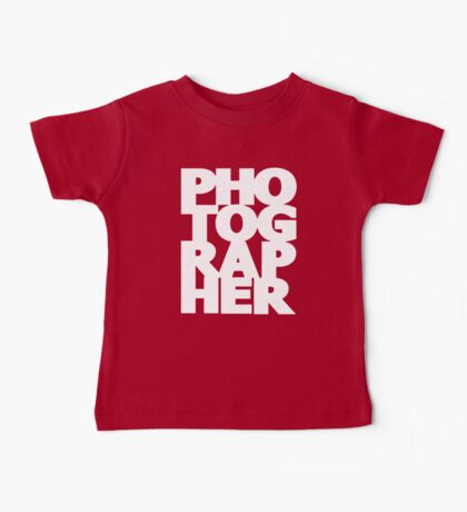 Gift For Photographer Baby Tee