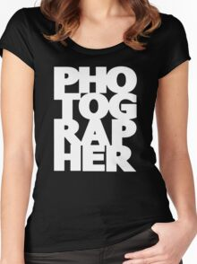 Gift For Photographer Women's Fitted Scoop T-Shirt