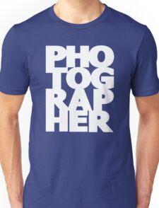Gift For Photographer Unisex T-Shirt
