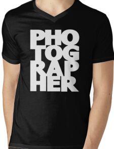 Gift For Photographer Mens V-Neck T-Shirt