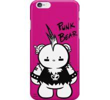 PUNK BEAR 2 iPhone Case/Skin