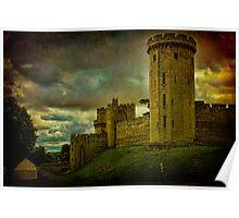 Castle Warwick, Warwickshire, England Poster