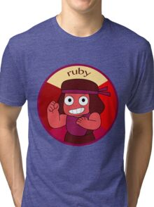 Eternal Flame Ruby Tri-blend T-Shirt
