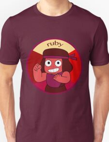 Eternal Flame Ruby Unisex T-Shirt