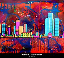 DETROIT -  TECHNO CITY by thespiltink