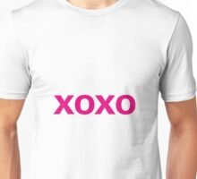 Hugs and Kisses - magenta Unisex T-Shirt