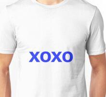 Hugs and Kisses - blue Unisex T-Shirt