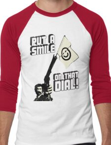 Put a smile on that dial, punk Men's Baseball ¾ T-Shirt