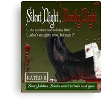 deadly night Canvas Print