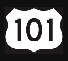 US Route 101 - California - Highway Road Trip T-Shirt Car Bumper Sticker Kids Clothes