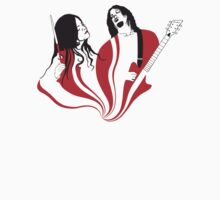 Jack and Meg White T-Shirt