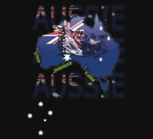 Australiana Composite T-Shirt by Craig Stronner