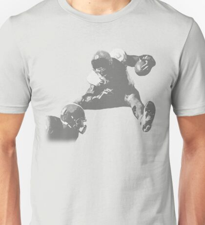 Hurdling Football Player Collection Unisex T-Shirt