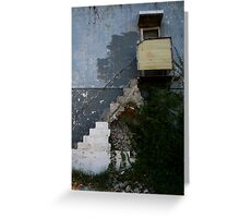 Stair Rot Greeting Card