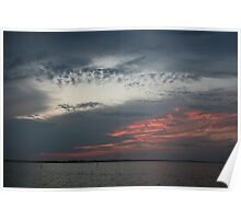 gulf coast skyscape Poster