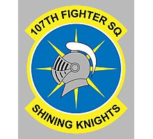Shining Knights Squadron Logo Photographic Print