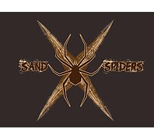 Sand Spiders Squadron Logo Photographic Print