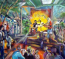 Gossip Circle - Jabaru live at Eumundi Markets by tola