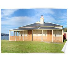 Hornby Lighthouse Keepers Cottage Poster