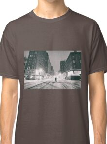 Snowstorm - New York City Classic T-Shirt