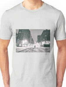 Snowstorm - New York City Unisex T-Shirt