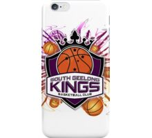 South Geelong Kings Basketball iPhone Case/Skin