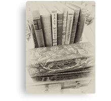 Used Books Canvas Print
