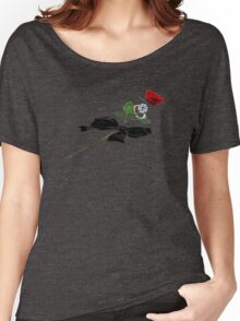 Phantom's Rose Women's Relaxed Fit T-Shirt