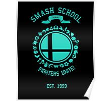 Smash School United (Cyan) Poster