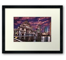 The First Church of Christ, Scientist Framed Print