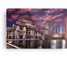 The First Church of Christ, Scientist Metal Print