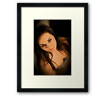 Waiting for Him ... Framed Print