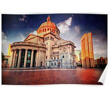 Christian Science Church Poster