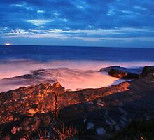 Dawn at Clovelly by Debbie Thatcher