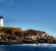"Cape Neddick ""Nubble"" Light by Carrie Blackwood"