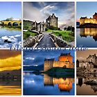 Eilean Donan Castle through the seasons by The Creative Minds