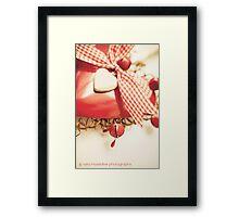 Vintage Christmas Framed Print