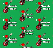 I Heart March Hare by Mary C