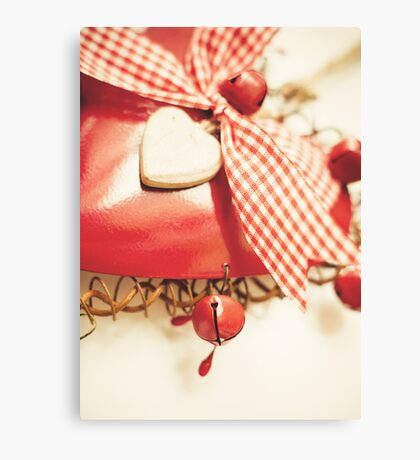 Vintage Christmas 5x7 Canvas Print