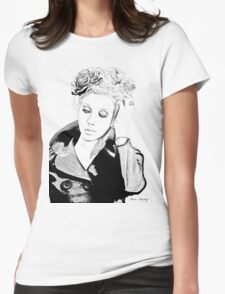 Fashion Beauty Womens Fitted T-Shirt
