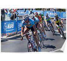 UCI Bike Race - Geelong 2010 Poster