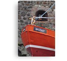 Belfast Boat Canvas Print
