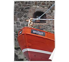 Belfast Boat Poster