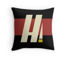 Hyperion Heroism Red Throw Pillow
