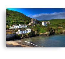 Port Isaac Harbour view Canvas Print