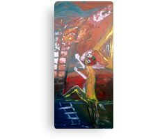 ABSTRACT 9-11 Canvas Print