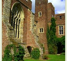 Herstmonceux Castle  by ©The Creative  Minds