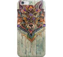 Wolf Watercolor  iPhone Case/Skin